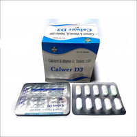 500 Mg Calcium Carbonate + Vit D3 250 I.U Tablet