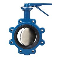 Industrial Cast Steel Butterfly Valve Parts
