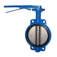 Industrial Pnuematic Butterfly Valve Body Parts