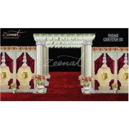Zeenat Wedding Stage