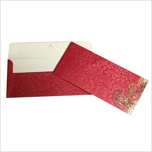 25pcs Pkg Metallic Printed  Envelope
