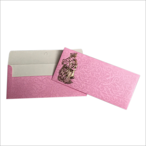 Metallic Printed Envelope