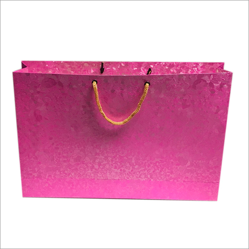 Metallic Paper Carry Bag