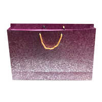 Folding Metallic Printed Paper Carry Bag