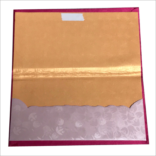 Single Piece Fancy Envelope