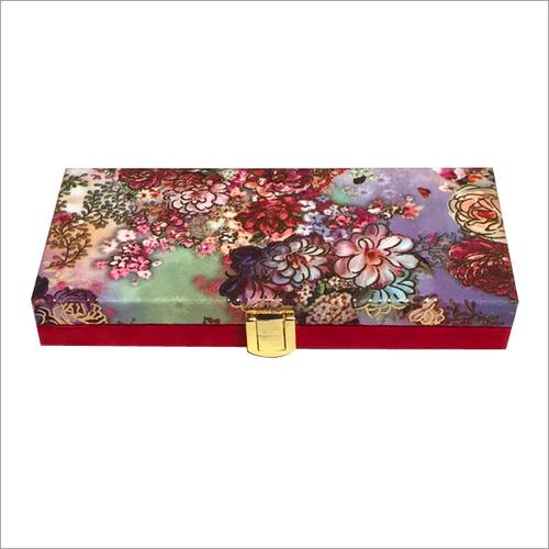 Flower Print Gift Box