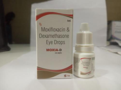 Moxifloxacin  0.5%W/V + Dexamethasone 0.05%W/V