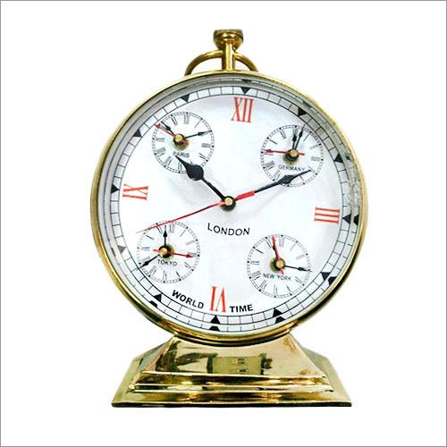 Antique Brass Clock
