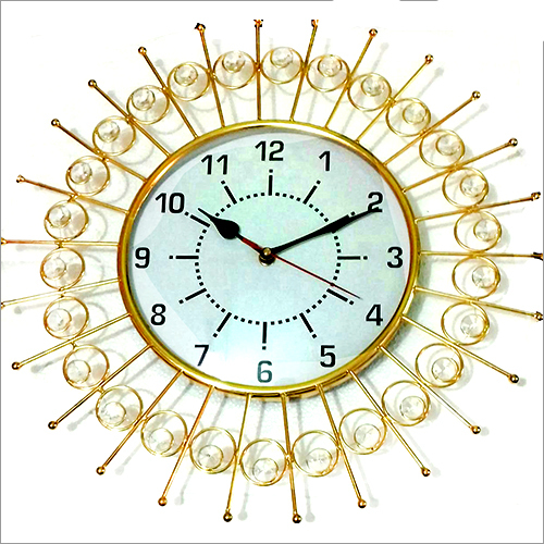 Decorative Antique Brass Wall Clock