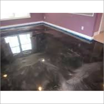 Metallic Epoxy Floor Tile