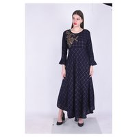 Rayon Designer Embroidery Kurti - Summer Collection