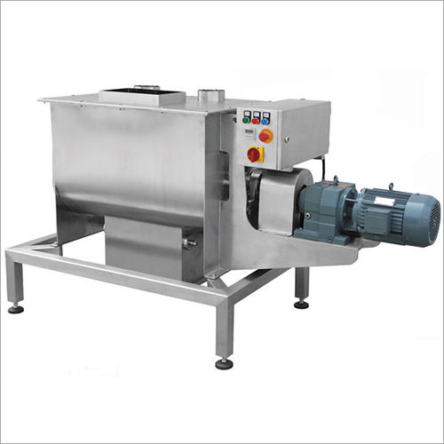 Horizontal Ribbon And Mixer Blender