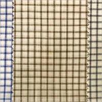 Mens Soft Cotton Check Shirt Fabric