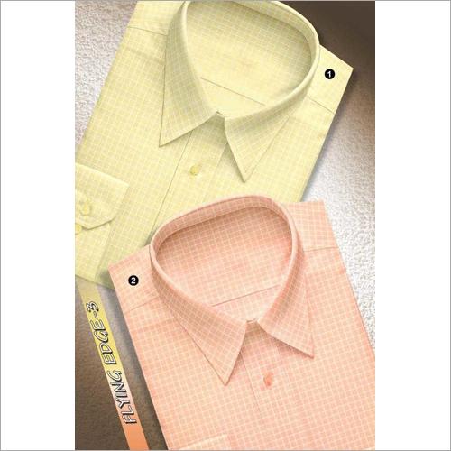 Men's Full Sleeves Check Shirt Fabric