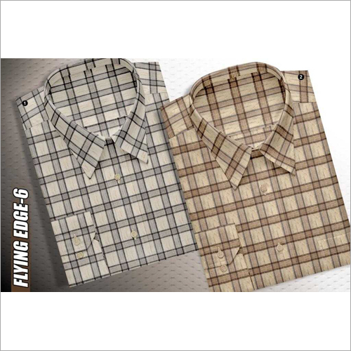 Mens Check Shirt Fabric