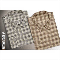 Men's Cotton Check Shirt Fabric