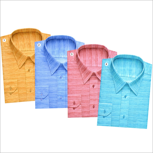 Mens Designer Plain Shirt Fabric
