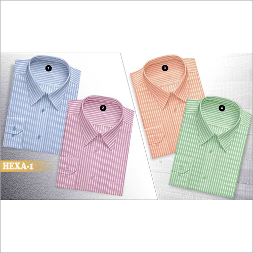 Mens Striped Shirt Fabric
