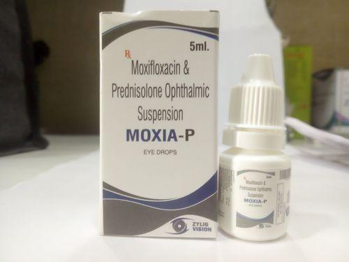 Moxifloxacin+Predniclone 1%