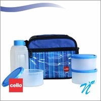 Cello Go 4 Eat Lunch packs (3 Container) Violet