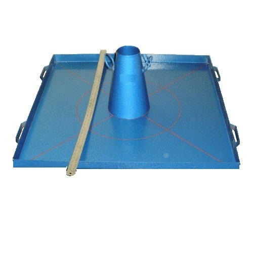 FLOW TABLE FOR SELF COMPACTING CONCRETE