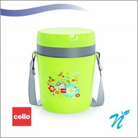 Cello Micra Insulated Lunch Carrier (4 Container) Pista
