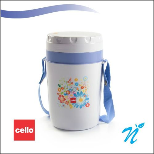Cello Micra Insulated Lunch Carrier (4 Container) Grey