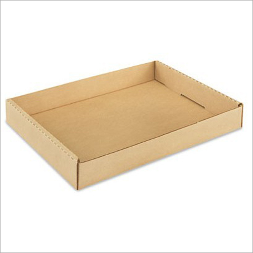 Die Cut Corrugated Tray Box