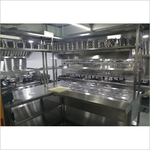 Stainless Steel Kitchen Designing Service