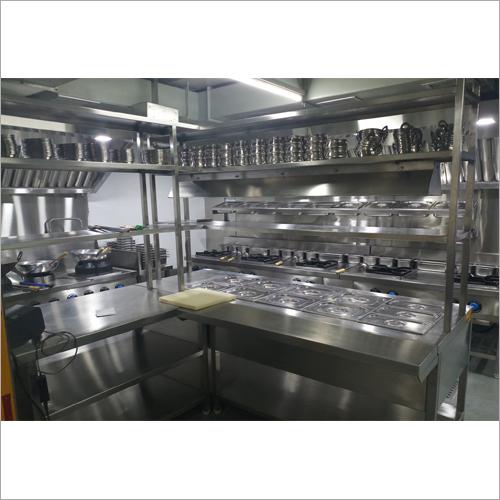 Stainless Steel Kitchen Designing Service