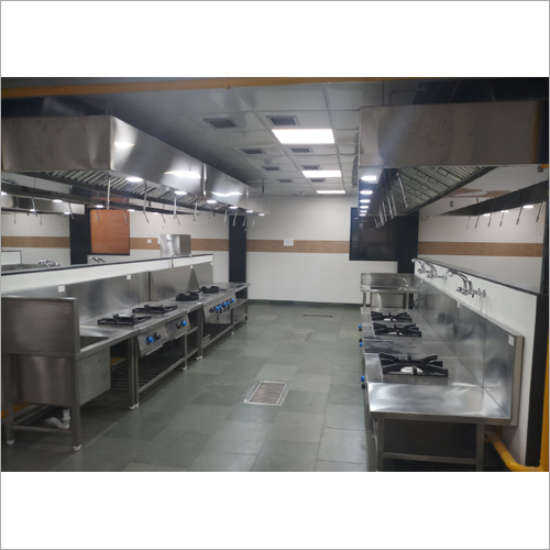 Commercial SS Kitchen Designing Service