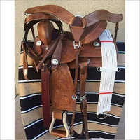 Western Leather Saddle