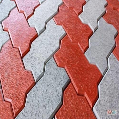 zigzag interlocking brick