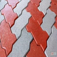 zigzag interlocking brick