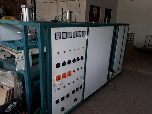 Fully Automatic Four Die Thermocol Plate Machine