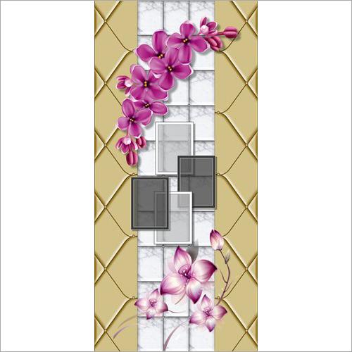 Modern Digital Door Paper Print