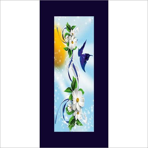 Flower Membrane Digital Door Print