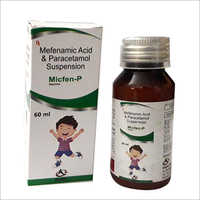 60 ML Mefenamic Acid And Paracetamol Suspension