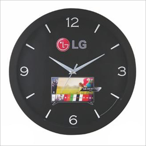 Black Promotional Wall Clock