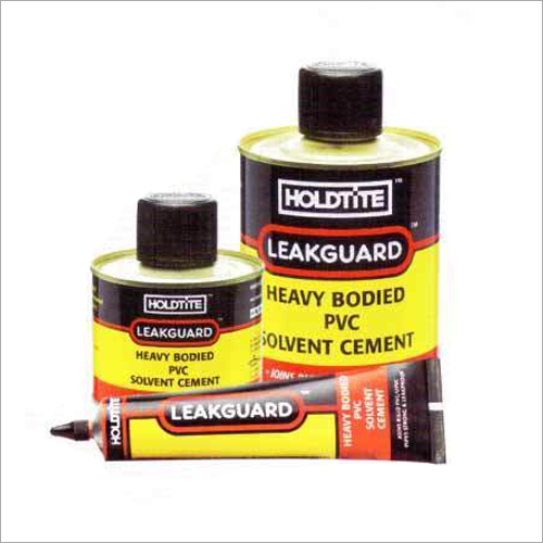 Heavy Bodied PVC Solvent Cement