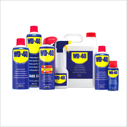 WD 40 Solvent Cement