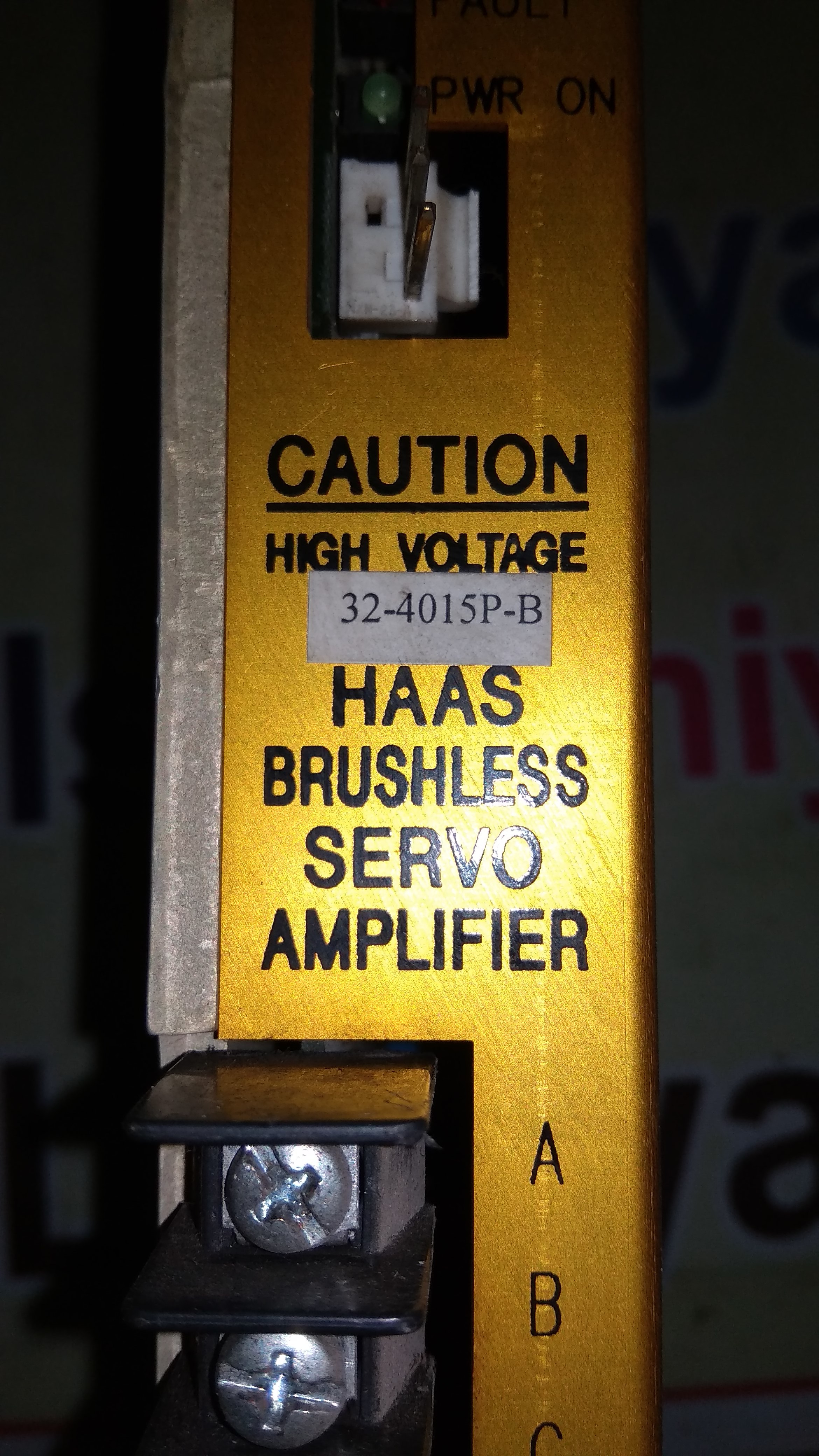 HAAS AMPLIFIER MODULE 32-4015P-B