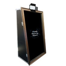 55 Inch wedding events magic mirror me Photo booth