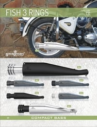 Exhaust Wild 3 rings for Enfield