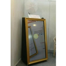 42inch Curtain Portable Photo booth Machine touch screen