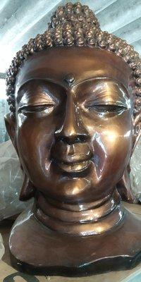 Buddha Face statue