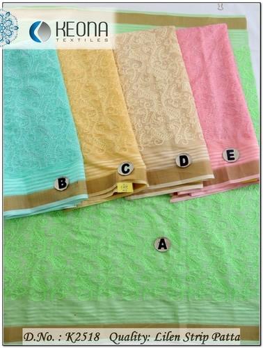 Chain Stitch Embroidery Fabric