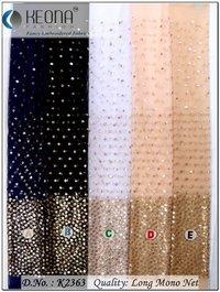 Lehenga Embroidery Fabric