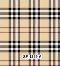 Checks & Stripes Printed Fabric