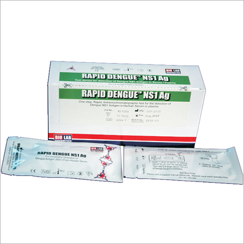 NS1 AG Rapid Dengue Kit